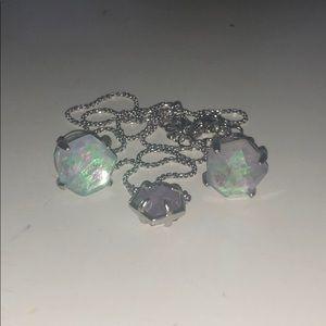 Iridescent Kendra Scott Jewelry Set